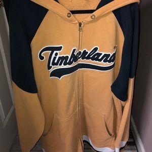 Vintage Timberland zip up hoodie